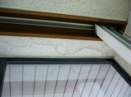 天井の雨ジミ補修です。