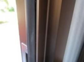 玄関扉へこみ傷補修