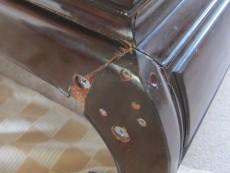 折れた座卓の脚補修