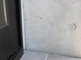 コンクリート打ちっぱなしのシミ補修