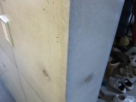 コンクリートウレタン塗装のはがれ