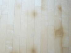 中古物件の床シミ補修