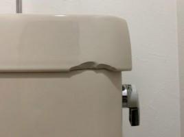 トイレタンク割れ