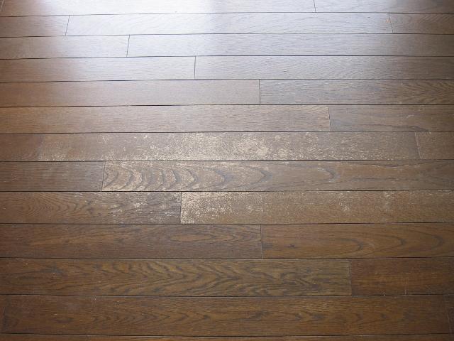床のハガレ