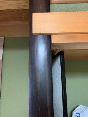 床柱シロアリ被害